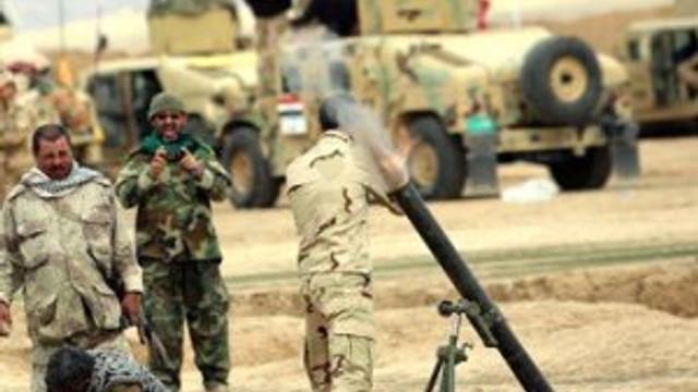 Irak ordusu operasyona başladı !