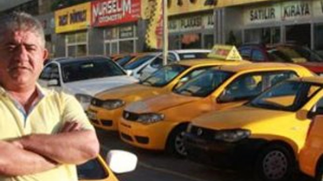 Takside büyük vurgun !