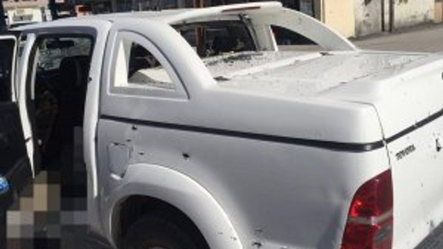 Saldırıda kullanılan araçta HDP izi