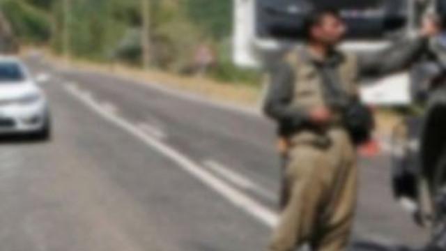 Yol kesen PKK'lılar şoförü öldürdü !