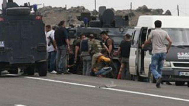 """""""Polis aracına 68 kurşun sıkmıştır"""""""