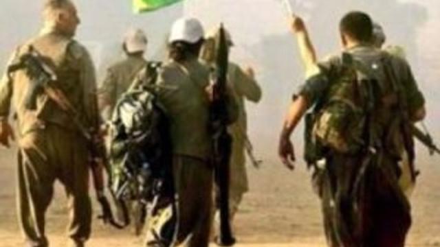 PYD militanları örgütten kaçtı !