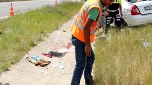 Bolu'da korkunç kaza !