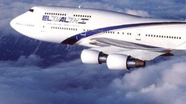 İsrail'e giden uçakta büyük panik !