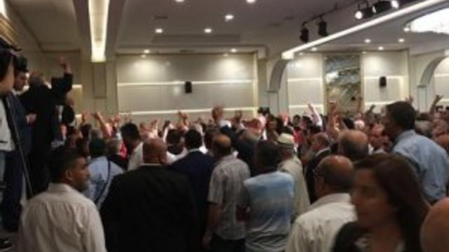 Meral Akşener'in bayramlaşmasında olay çıktı !
