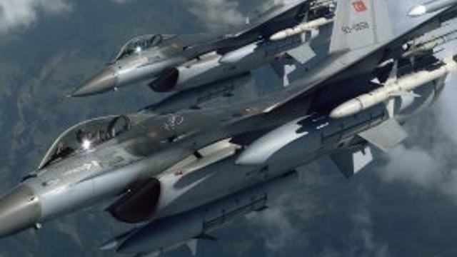 Ankara'da F-16'lar peş peşe havalandı !