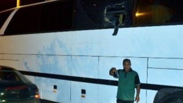 Turist otobüsünde dehşet anları