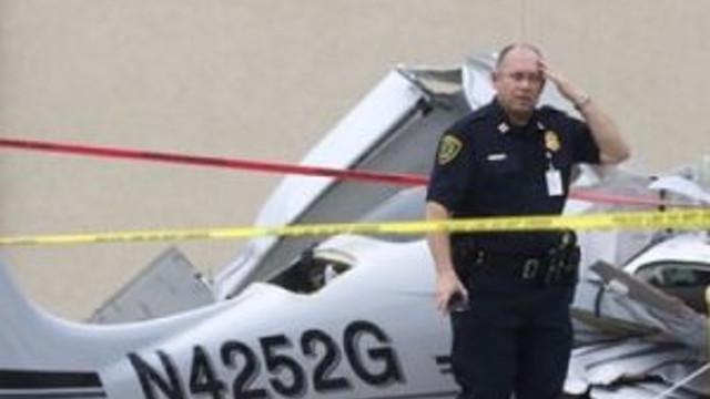 ABD'de motor arızası uçağı düşürdü !