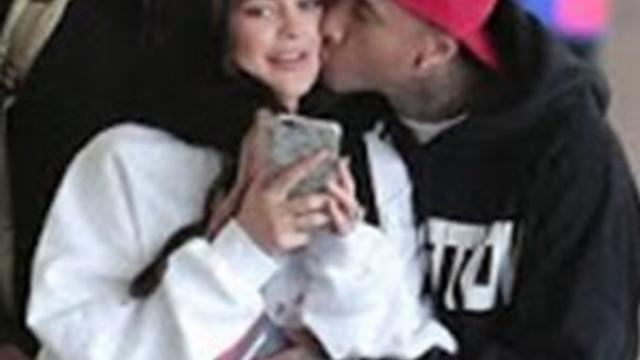 Aşk öpücüğü böyle görüntülendi
