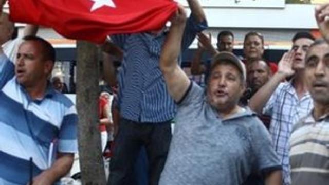HDP'ye Türk bayraklı tepki !
