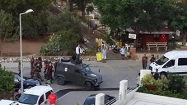 Erdoğan'ın kaldığı otele bordo bereliler saldırmış !