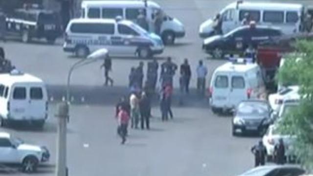 Ermenistan'da polis karargahına saldırı