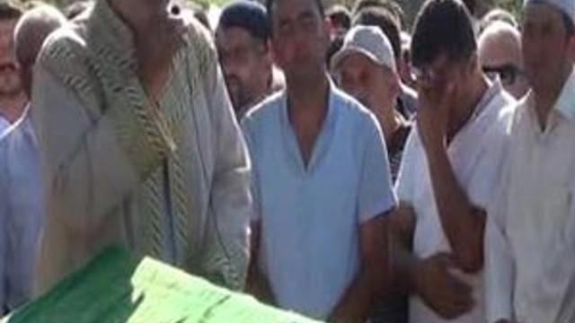 Şehit polis cenazesinde müftü beddua etti !