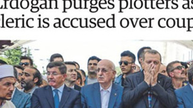 İngiliz basınından Erdoğan iddiası