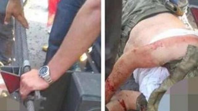 ''Başı kesildi'' denilen asker ortaya çıktı