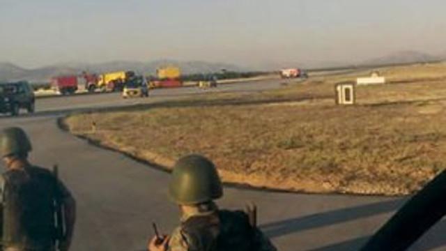 Malatya'da havalimanı kapatıldı !