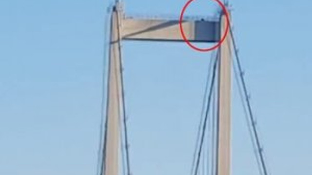 Köprüde keskin nişancı varmış !