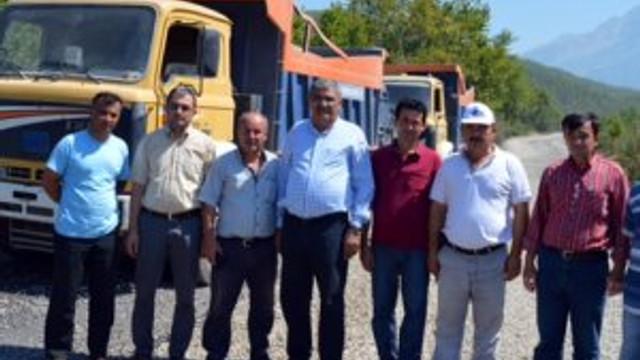 Köprülü Kanyon yolu  Antalya'ya yakışacak
