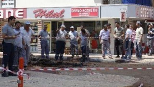 Antalya'da doğalgaz paniği !