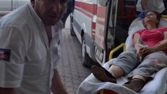 Kayseri'de çocuklar tartıştı, silahlar çekildi !
