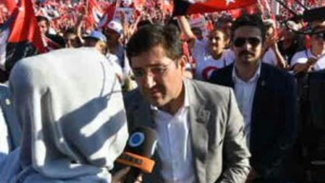Beşiktaş Belediyesi tam kadro CHP mitinginde