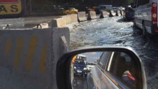 İstanbul'da ''su'' trafiği !