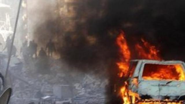 Kamışlı'da bombalı saldırı ! Nusaybin'den hissedildi