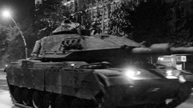 Tanklara eskortluk etmişlerdi... Tutuklandı !