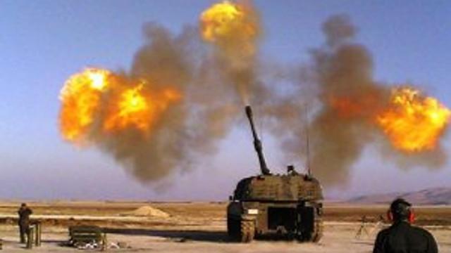Terör örgütü DAEŞ sınırda saldırdı