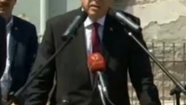 """Erdoğan fena patladı: """"Sen kimsin !"""""""