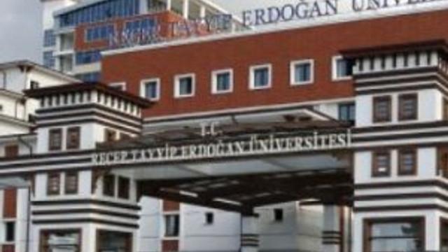 Recep Tayyip Erdoğan Üniversitesi'nde FETÖ operasyonu