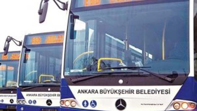 Ankara'da ücretsiz ulaşım uzatıldı !