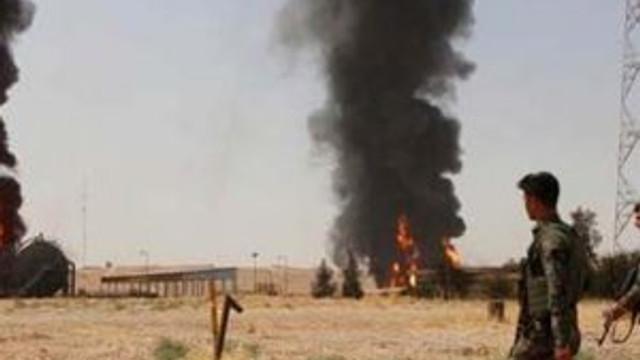 IŞİD petrol kuyusuna saldırdı !