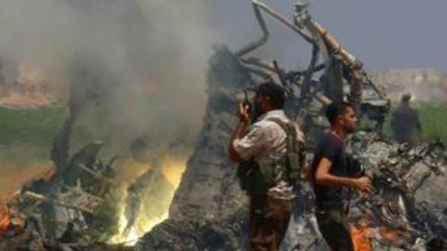 Rusya resmen açıkladı: Helikopterimiz düşürüldü