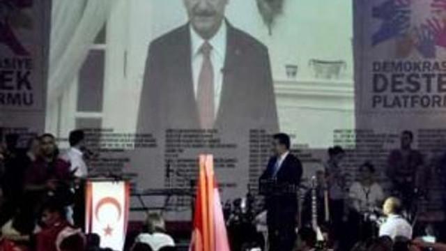 Başbakan KKTC'ye böyle seslendi