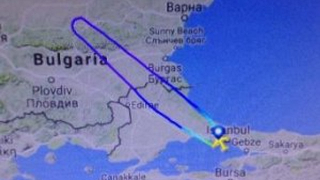 Sahipsiz telefon THY uçağını geri döndürdü