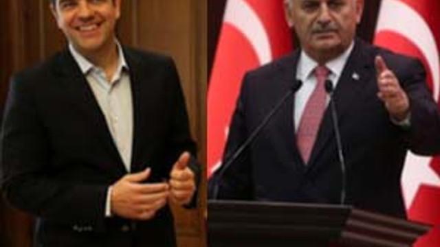 Başbakan Yıldırım ile Çipras'ın görüşmesi sızdı