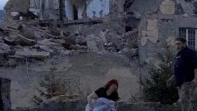 İtalya'da büyük deprem !