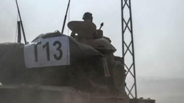 TSK'dan Suriye'ye operasyon: Tanklar sınırı geçti