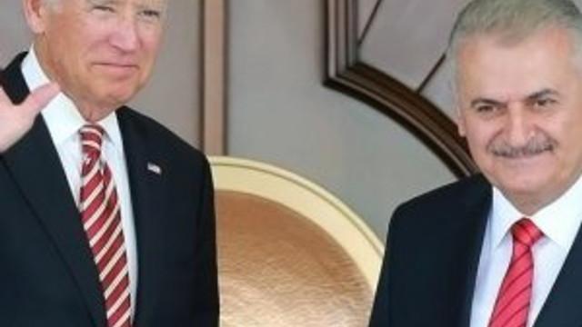 Yıldırım ve Biden'dan ortak açıklama