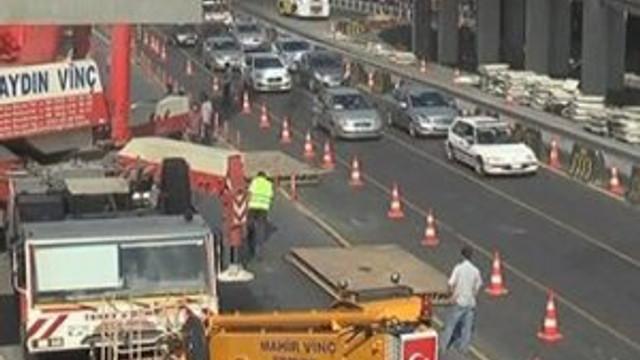 İstanbul'da trafik kilit !