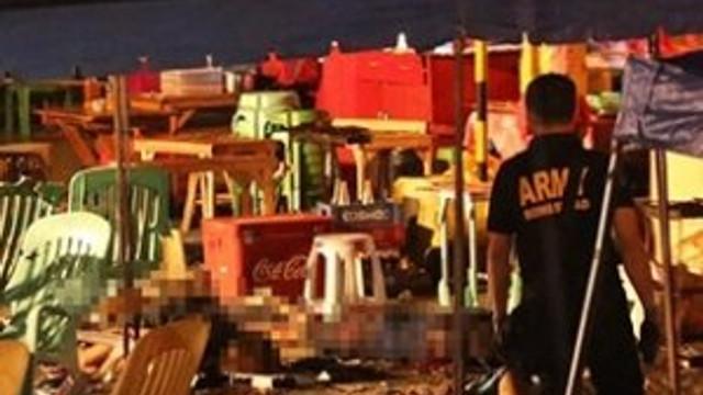 Pazar yerinde patlama; 12 ölü