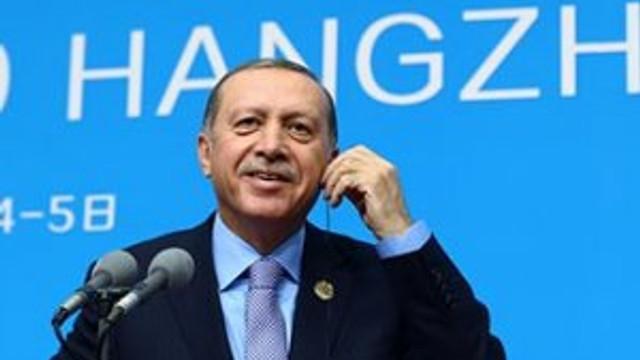 Erdoğan'dan liderlere sürpriz hediye