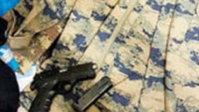 IŞİD'in askeri üniformalı suikast timi çökertildi...