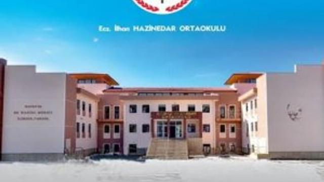 Başkan Hazinedar'ın merhume annesi adına yaptırdığı ortaokul açılıyor