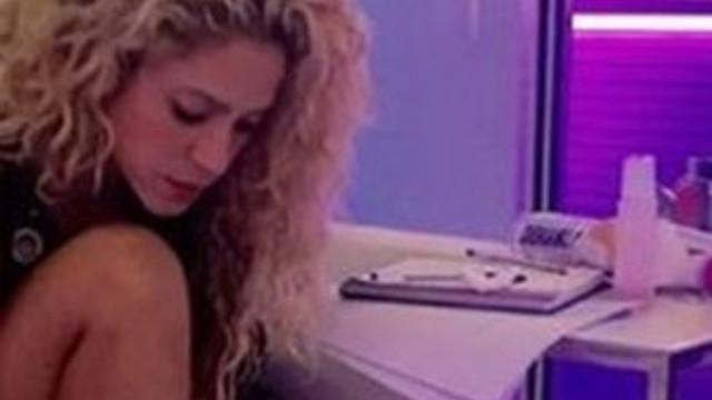 Shakira'nın paylaştığı fotoğraftaki nesne ne ?