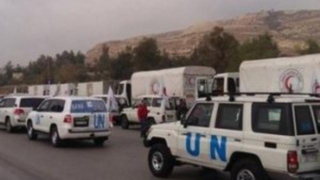 Suriye'de BM yardım konvoyu vuruldu