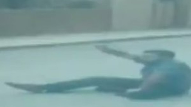 İsrail Büyükelçiliği saldırganının vurulma anı