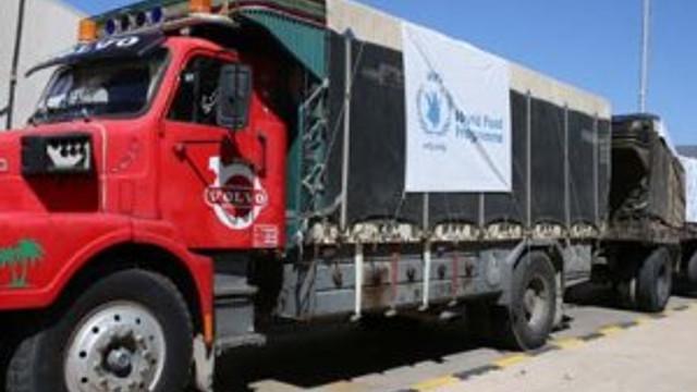 BM'nin yardım TIR'ları İdlib'e hareket etti