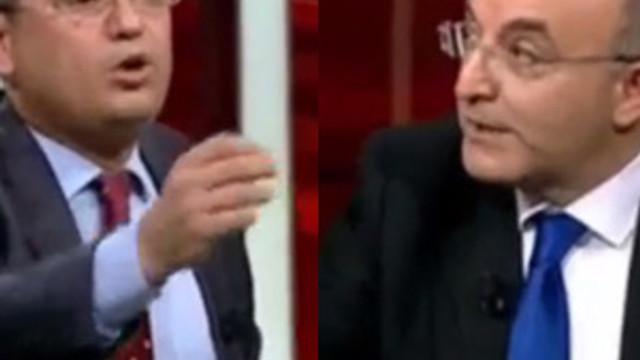 Ahmet Hakan'ın programında ''şerefsiz'' tartışması